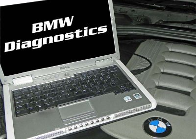 BMW Diagnostics at ST-Racing at Shawn Taylor Racing Norwich