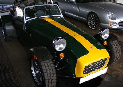 Caterham 7 at Shawn Taylor Racing Norwich