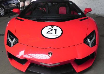 Lamborghini at Shawn Taylor Racing Norwich