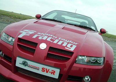 MG SV-R at Shawn Taylor Racing Norwich
