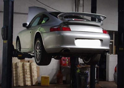 Porsche 996 at Shawn Taylor Racing, Norwich